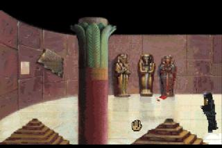 Screenshot Thumbnail / Media File 1 for Laura Bow 2 - The Dagger of Amon-Ra (CD DOS)