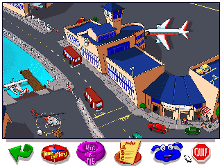 Screenshot Thumbnail / Media File 1 for Let's Explore the Airport with Buzzy (CD Windows)
