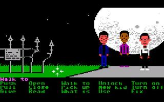 Screenshot Thumbnail / Media File 1 for Maniac Mansion (Floppy DOS v1)