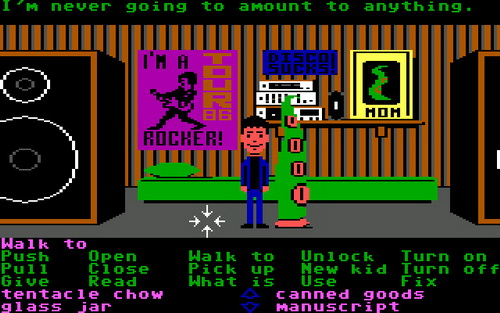 Maniac Mansion (1987) - Remember MM2: Day of the Tentacle? :)