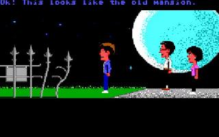Screenshot Thumbnail / Media File 1 for Maniac Mansion (Floppy DOS v2 Enhanced)