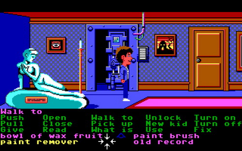 maniac mansion scummvm