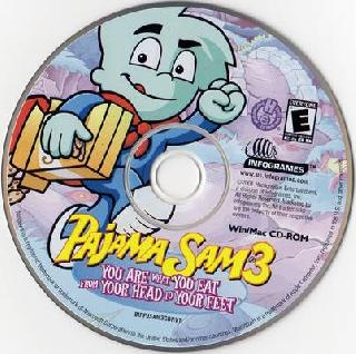 Screenshot Thumbnail / Media File 1 for Pajama Sam 3 - You Are What You Eat From Your Head to Your Feet (CD Windows)