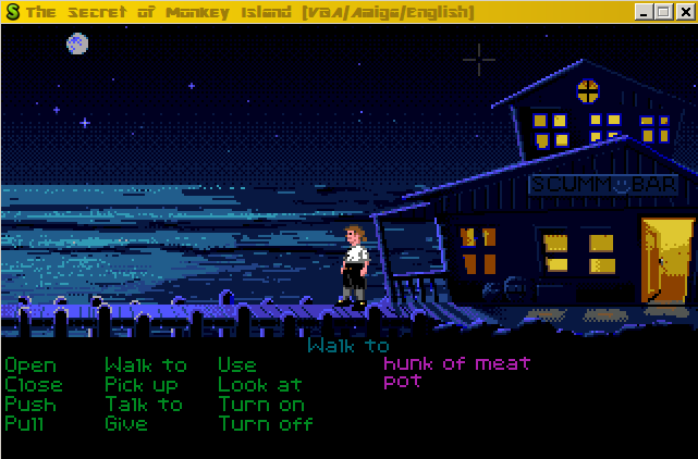 The Secret of Monkey Island (Amiga) Game < ScummVM Games