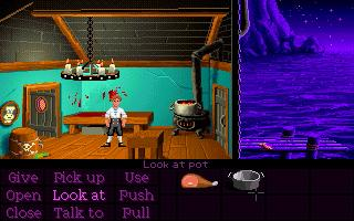 Screenshot Thumbnail / Media File 1 for The Secret of Monkey Island (CD DOS VGA)