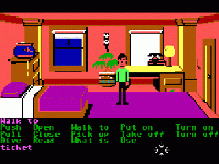 Screenshot Thumbnail / Media File 1 for Zak McKracken and the Alien Mindbenders (Floppy DOS v1)