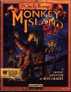 Screenshot Thumbnail / Media File 1 for Monkey Island 2 LeChuck's Revenge (DOS, Italian)