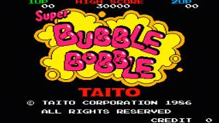 Screenshot Thumbnail / Media File 1 for Bubble Bobble (US, Ver 1.0)
