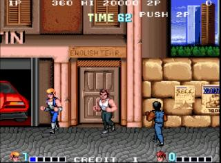 Screenshot Thumbnail / Media File 1 for Double Dragon (bootleg)