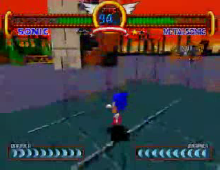 Screenshot Thumbnail / Media File 1 for Sonic the Fighters (Japan)