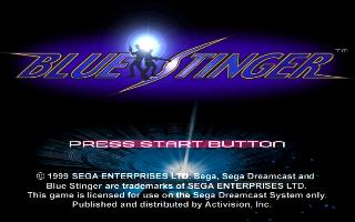 Screenshot Thumbnail / Media File 1 for Blue Stinger (Japan)