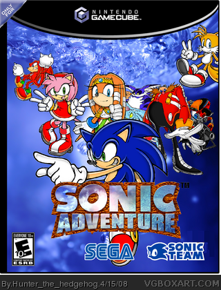 Sonic Adventure (Japan) ISO < DC ISOs | Emuparadise