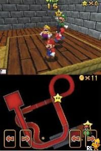 Super Mario 64 DS (U)(Trashman) Screen Shot