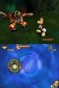 Rayman DS (U)(Brassteroid Team) Screen Shot