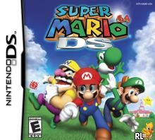 Super Mario 64 DS (v01) (U)(Trashman) Box Art
