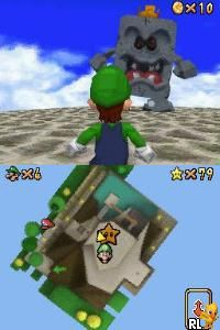 Super Mario 64 DS (v01) (U)(Trashman) Screen Shot