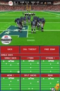 Madden NFL 2005 (U)(Lube) Screen Shot