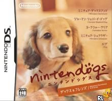 Nintendogs - Miniature Dachshund & Friends (J)(Trashman) Box Art