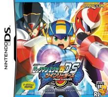 Rockman EXE 5 DS - Twin Leaders (J)(WRG) Box Art