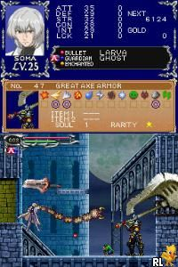 Castlevania - Dawn of Sorrow (U)(Legacy) Screen Shot