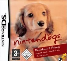 Nintendogs - Dachshund & Friends (E)(Trashman) Box Art