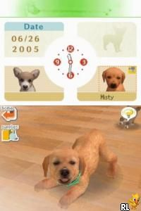 Nintendogs - Dachshund & Friends (E)(Trashman) Screen Shot