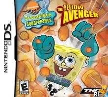 Spongebob Squarepants - The Yellow Avenger (U)(Trashman) Box Art