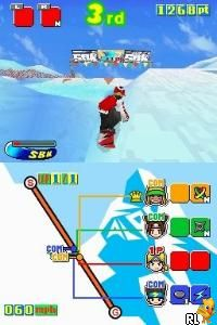 Snowboard Kids - SBK (U)(Mode 7) Screen Shot