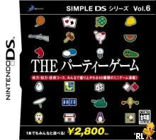 Simple DS Series Vol. 6 - The Party Game (J)(SCZ) Box Art