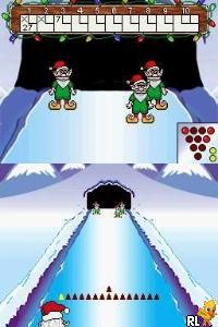 Elf Bowling 1 & 2 (U)(Trashman) Screen Shot