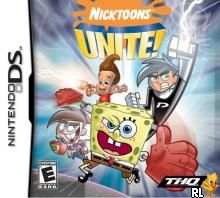 Nicktoons Unite! (U)(Trashman) Box Art