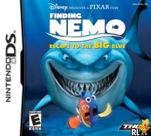 Finding Nemo - Escape to the Big Blue (U)(Trashman) Box Art