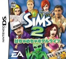 Sims 2 - Hachamecha Hotel Life, The (J)(Mode 7) Box Art