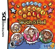 Super Monkey Ball - Touch & Roll (U)(Trashman) Box Art