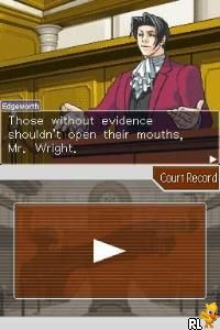 Phoenix Wright - Ace Attorney (E)(Legacy) Screen Shot