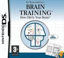 Dr Kawashima's Brain Training - How Old Is Your Brain (E)(Supremacy) Box Art