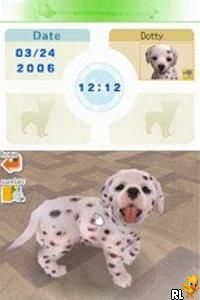 Nintendogs - Dalmatian & Friends (E)(Legacy) Screen Shot