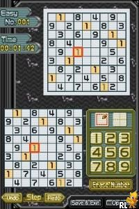 Sudoku Gridmaster (U)(Legacy) Screen Shot
