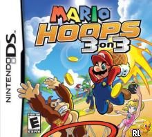 Mario Hoops 3 on 3 (U)(Legacy) Box Art