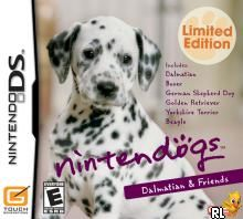 Nintendogs - Dalmatian & Friends (U)(Supremacy) Box Art