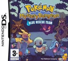 Pokemon Mystery Dungeon - Blue Rescue Team (E)(Supremacy) Box Art