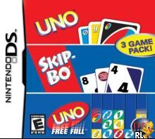 Uno - Skip-Bo - Uno Free Fall (3 Game Pack) (U)(Sir VG) Box Art