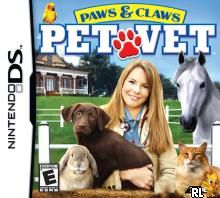 Paws & Claws - Pet Vet (U)(XenoPhobia) Box Art