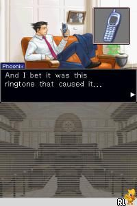 Phoenix Wright Ace Attorney - Justice For All (U)(XenoPhobia) Screen Shot