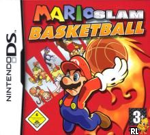 Mario Slam Basketball (E)(FireX) Box Art