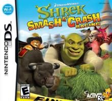 Shrek - Smash n' Crash Racing (U)(XenoPhobia) Box Art