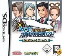 Phoenix Wright Ace Attorney - Justice For All (E)(FireX) Box Art