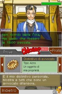 Phoenix Wright - Ace Attorney Justice for All (E)(Independent) Screen Shot
