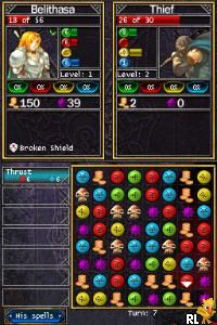 Puzzle Quest - Challenge of the Warlords (U)(XenoPhobia) Screen Shot