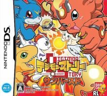 Digimon Story Sunburst (J)(Navarac) Box Art